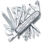 Victorinox Swiss Army SwissChamp Multi-Tool, SilverTech, 3.58 inch Closed