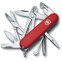 Victorinox Swiss Army Deluxe Tinker Multi-Tool, Red, 3.58 inch Closed