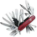 Victorinox Swiss Army SwissChamp XLT Multi-Tool, Translucent Ruby, 3.58 inch Closed (Old Sku 53504)