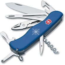 Victorinox Swiss Army Skipper Multi-Tool, Blue, 4.37 inch Closed (Old Sku 53663)