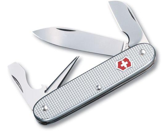 Victorinox Swiss Army Electrician Multi-Tool, Silver Alox, 3.58 inch Closed