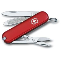 Victorinox Swiss Army Classic SD Multi-Tool, Red, 2.25 inch Closed (Old Sku 53001)
