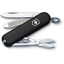 Victorinox Swiss Army Classic SD Multi-Tool, Black, 2-1/4 inch Closed (Old Sku 53003)