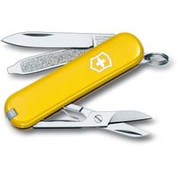 Victorinox Swiss Army Classic SD Multi-Tool, Yellow, 2-1/4 inch Closed (Old Sku 53008)