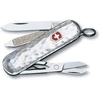 Victorinox Swiss Army Classic SD Multi-Tool, Sterling Hammered, 2.25 inch Closed (Old Sku 53029)