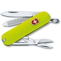 Victorinox Swiss Army Classic SD Multi-Tool, Stayglow Yellow, 2.25 inch Closed (Old Sku 53208)