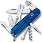 Victorinox Swiss Army Climber Multi-Tool, 3-1/2 inch Translucent Sapphire Handles (Old Sku 53386)
