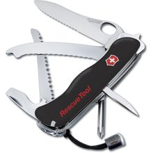Victorinox Swiss Army RescueTool Multi-Tool, Black, 4.37 inch Closed