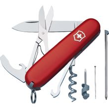 Victorinox Swiss Army Compact Multi-Tool, Red, 3.58 inch Closed