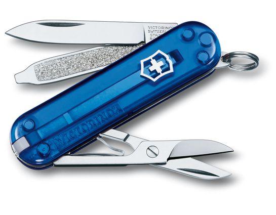 Victorinox Swiss Army Classic SD Multi-Tool, Sapphire, 2-1/4 inch Closed (Old Sku 54212)