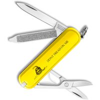 Victorinox Swiss Army Classic SD Multi-Tool, Gadsden Flag  inchDon't Tread On Me inch Yellow, 2-1/4 inch Closed (Old Sku 53076)