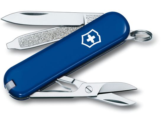 Victorinox Swiss Army Classic SD Multi-Tool, Blue, 2-1/4 inch Closed (Old Sku 53002)