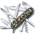 Victorinox Swiss Army Huntsman Multi-Tool, Camo, 3.58 inch Closed (Old Sku 53500)