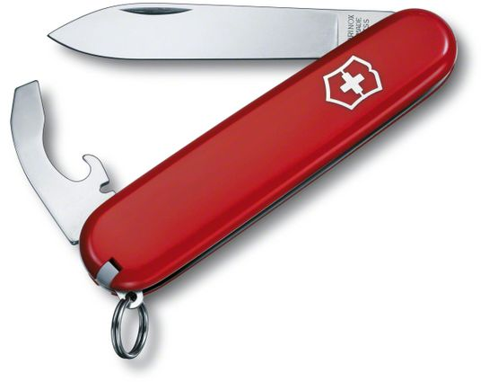 Victorinox Swiss Army Bantam Multi-Tool, Red, 3.31 inch Closed (Old Sku 53941)