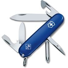 Victorinox Swiss Army Tinker Multi-Tool, Blue, Cub Scout, 3.58 inch Closed