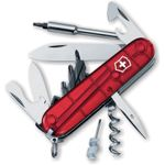 Victorinox Swiss Army Cybertool 29 Multi-Tool, 3-1/2 inch Ruby Handles (Old Sku 54919)