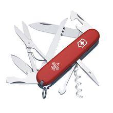 Victorinox Swiss Army Huntsman Multi-Tool, Red, Boy Scouts, 3.58 inch Closed