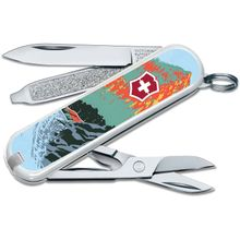 Victorinox Swiss Army Ranger of the Lost Art Classic SD Limited Edition 2020 Multi-Tool, Great Smoky Mountains, 2.25 inch Closed