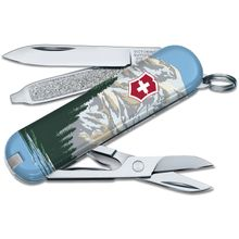 Victorinox Swiss Army Ranger of the Lost Art Classic SD Limited Edition 2020 Multi-Tool, Mt. Rainer, 2.25 inch Closed