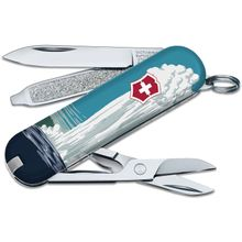 Victorinox Swiss Army Ranger of the Lost Art Classic SD Limited Edition 2020 Multi-Tool, Yellowstone, 2.25 inch Closed