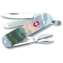 Victorinox Swiss Army Ranger of the Lost Art Classic SD Limited Edition 2020 Multi-Tool, Glacier, 2.25 inch Closed