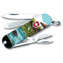 Victorinox Swiss Army Ranger of the Lost Art Classic SD Limited Edition 2020 Multi-Tool, Everglades, 2.25 inch Closed