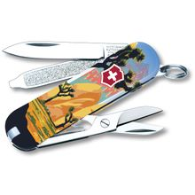 Victorinox Swiss Army Ranger of the Lost Art Classic SD Limited Edition 2020 Multi-Tool, Joshua Tree, 2.25 inch Closed