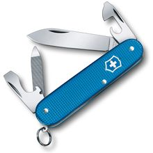 Victorinox Swiss Army 2020 Limited Edition Cadet Multi-Tool, Aqua Blue Alox, 3.3 inch Closed