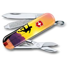 Victorinox Swiss Army 2020 Contest Classic SD Limited Edition Multi-Tool, Climb High, 2.25 inch Closed