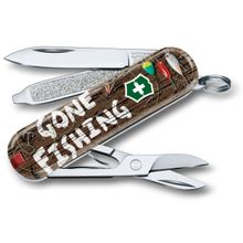 Victorinox Swiss Army 2020 Contest Classic SD Limited Edition Multi-Tool, Gone Fishing, 2.25 inch Closed