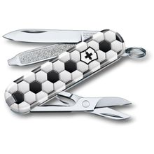 Victorinox Swiss Army 2020 Contest Classic SD Limited Edition Multi-Tool, World of Soccer, 2.25 inch Closed