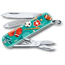 Victorinox Swiss Army 2020 Contest Classic SD Limited Edition Multi-Tool, Sports World, 2.25 inch Closed