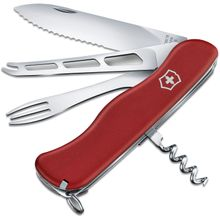 Victorinox Swiss Army Cheese Master Multi-Tool, Red Polyamide, 4.4 inch Closed