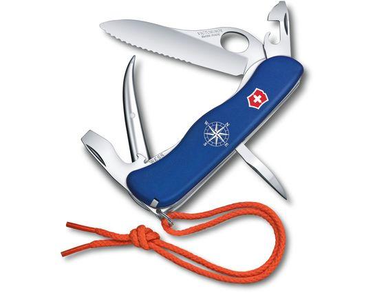 Victorinox Swiss Army Skipper Pro Multi-Tool, Blue, 4.4 inch Closed