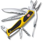 Victorinox Swiss Army RangerGrip Boatsman Multi-Tool 5-1/8 inch Yellow and Black Handles