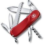 Victorinox Swiss Army 2.3813.SE-X4 Locking Evolution S13 Multi-Tool 3-3/8 inch Red Handles
