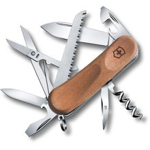 Victorinox Swiss Army EvoWood 17 Multi-Tool 3-3/8 inch Walnut Handles