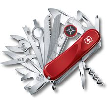 Victorinox Swiss Army Evolution S54 ToolChest Plus Multi-Tool 3-1/4 inch Red Handles
