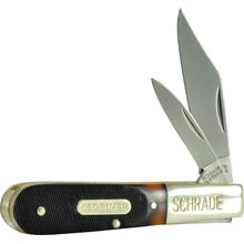 Schrade Old Timer Delrin Barlow Knife 3.4 inch Closed