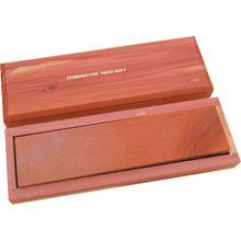 Sharpener Aluminum / Arkansas Combo Stone 8 inch x 2 inch x 1/2 inch, Cedar Storage Box
