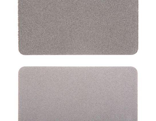 EZE-LAP Fine/Coarse 2 Stone Set, Gold Wallet 2 inch x 3.25 inch Credit Card Size Stone