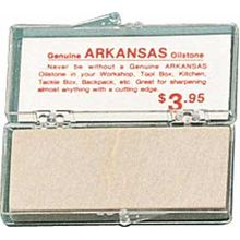 Arkansas Stone -small soft whetstone 2-7/8 inch x 1-1/8 inch x 1/4 inch