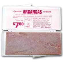 Arkansas Stone Small 4 inch x 1-1/2 inch in Plastic Box