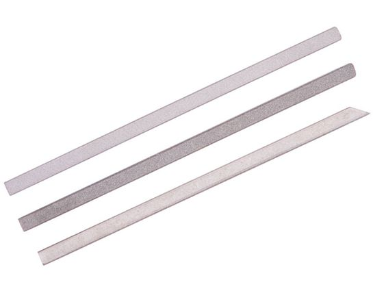 EZE-LAP Set 1 Each, Fine, Medium and Coarse  - 6 inch x 1/4 inch x 1/4 inch Special Use Files