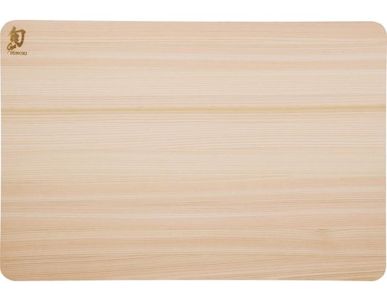 Shun DM0814 Hinoki Cutting Board, Small, 10.75 inch x 8.25 inch x 0.5 inch