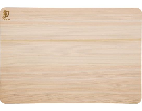 Shun DM0817 Hinoki Cutting Board, Large, 17.75 inch x 11.25 inch x 0.75 inch