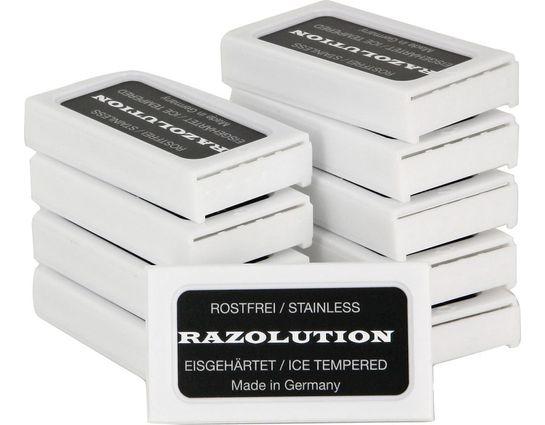 Simba Tec RAZOLUTION 4Edge Double Edge Razor Blade 100 Pack