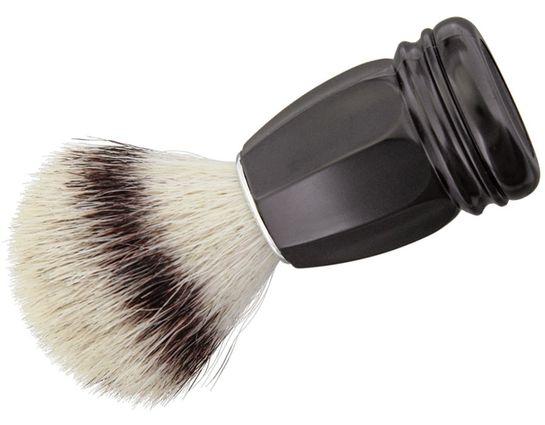 Simba Tec RAZOLUTION Synthetic Shaving Brush, Black