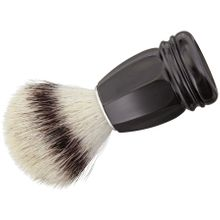 Simba Tec RAZOLUTION Synthetic Shaving Brush, Black