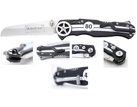 SOG Fusion Muscle Car Lockback Theme Knife 3-1/8 inch Blade